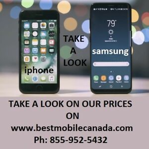 Samsung and iPhone SE 6 6S 7 PLUS 8 S5 S6 S7 S8 S9 edge Moncton