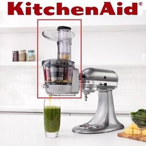 NEW KITCHENAID JUICER ATTACHMENT KSM1JA 199169615 STAND MIXER PART ACCESSORY SAUCE JAMS HIGH AND LOW