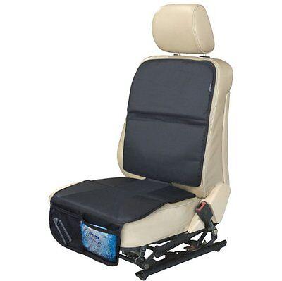 AutoMuko Autositzschutz für Kindersitze mit Netztaschen verhindert Bremsspuren
