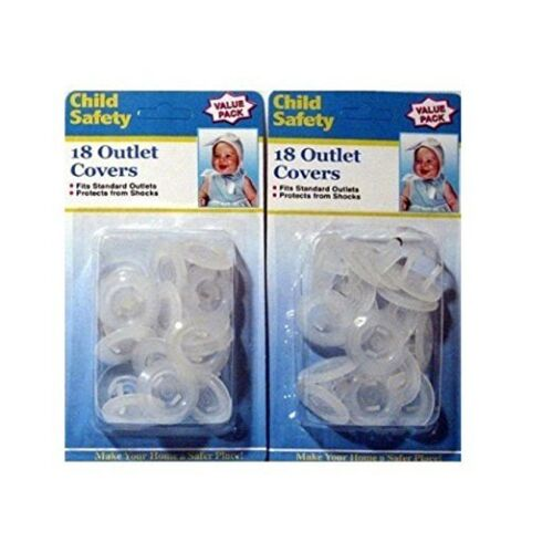 Electrical Outlet Child Proof Safety Covers Standard Kid Must Have Safe Home NEW