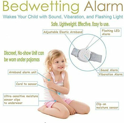 New Bedwetting Alarm Winhy Nocturnal Enuresis Baby Monitor f