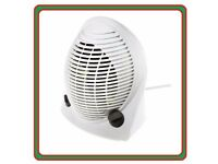 Brand New 2.1kW Fan Heater with Adjustable Thermostat RS Electrical 2100 Watts