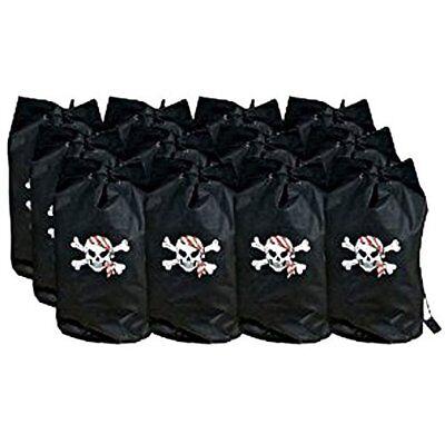 12pk Pirate Loot  Back Pack Party Favors Backpacks Favor Treasure Bags - Pirate Loot Bags