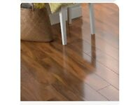 LAMINATE FLOORING WALNUT EFFECT - 16 square metres - FREE DELIVERY