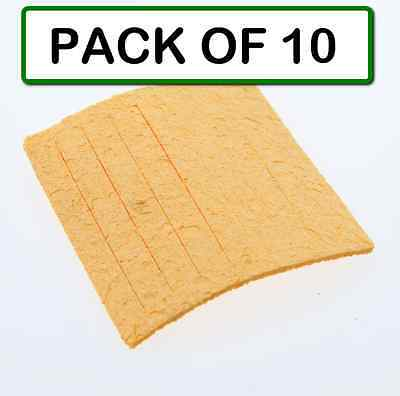 Pack Of 10 Weller Tc205 Solder Cleaning Sponge For Ph Series Stands