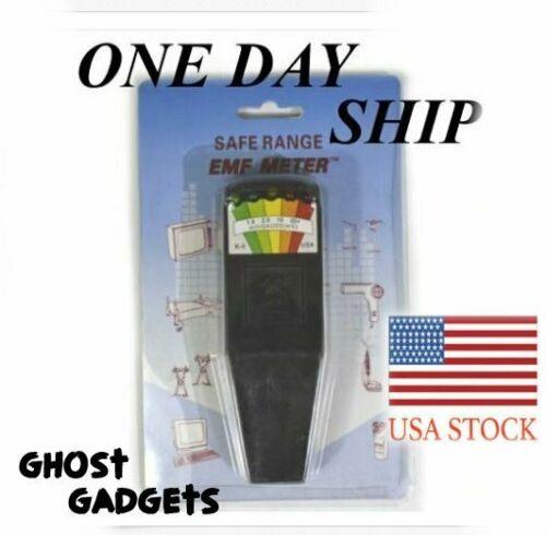 Paranormal Ghost Hunting Equipment K2 KII LED EMF Meter Dosimeter Detector