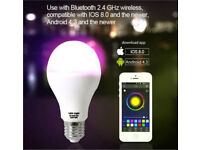 BLUETOOTH CONTROLLED LIGHT BULB