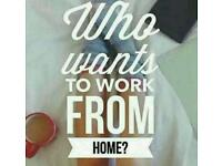 Want to work from home and be paid weekly