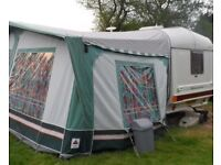 520 Awning from a Coachman Genius Caravan - In Good Condition in Carrier inc All Poles etc