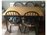 Kitchen table & chairs used condition