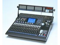 Tascam DM24 Digital Mixing desk with Meterbridge