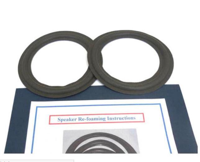 6-1/2」インチ泡エッジは、JBL 2600 TLX-12 MR26 MR38 MRV308 MRV310  6 5のために、キットを修繕しますのeBay公認海外通販|セカイモン