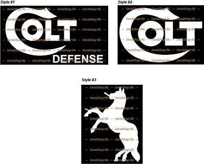 Colt Firearms - Outdoor Sports - Hunting - Vinyl Die-Cut Peel N' Stick Decals