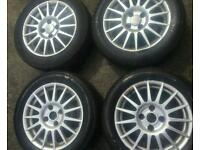 "4x 15"" alloys fresh metallic ford fiesta zetec s alloys. Ka, puma, escort, corsa, clio, punto etc"