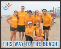 Play Adult, Co-ed, Beach Volleyball with FCSSC this Summer!