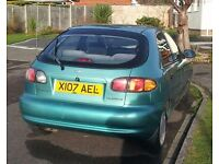 Good Runner but damage to front wing under 60,000 miles 6 months MOT Reduced to £395 O.V.N.O