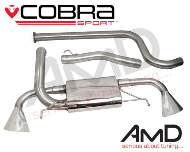 "Cobra Sport Astra J GTC VXR 3"" Stainless Steel Cat Back Exhaust System Non Res"