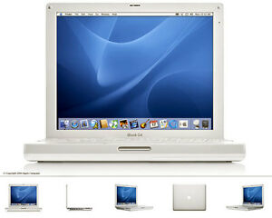 laptop ibook g4 avec wifi mac os mac office  79$