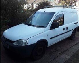 2006 Vauxhall combo van 1.3 cdti 11 months mot 116,000 genuine miles drive away £1400 swap?