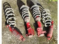 Ford Freda Mazda Bongo Fully Adjustable Suspension Coilovers £250