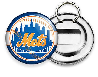 Mets Team Key (NEW YORK METS BASEBALL TEAM BOTTLE OPENER KEYCHAIN KEY FOB SPORTS FAN GIFT)
