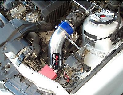 "Racing Pflow 3.5"" CAI COLD AIR Intake BMW E36 M3 320/323/325/328/330 E46 Filter"