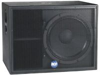 RCF ESW 1018 18 inch Subwoofers ( passive )