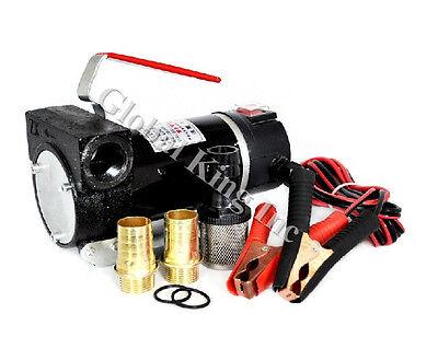 Dc 12v Fuel Transfer Pump Dieselbiodieselkerosene 10.56gpm15hp