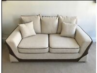 2 seater with snuggle chair