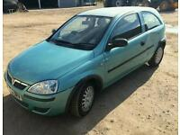 Vauxhall corsa 1.3 cdti spares or repairs