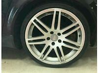 """19"""" audi rs4 alloys 5x112, not bola 3sdm alphards etc may swap or px"""