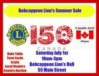 Bobcaygeon Lions Canada Day Vendor Show
