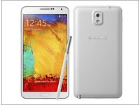 Samsung Galaxy Note 3 BRAND NEW IN BOX in white colour