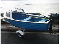 12ft highlander cuddy fishing boat