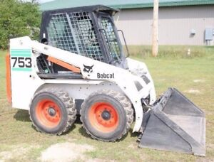 WANTED 753 bobcat skid steer loader