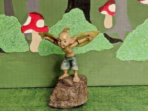 Miniature Garden Pixie Ready to Take Off for Fairy or Gnome Garden NEW in Box