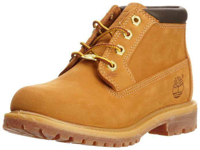Women's Shoe Timberland Nellie Waterproof Lace Up Chukka 23399 Wheat *New