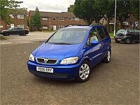**2005 05 Reg Vauxhall Zafira Breeze 16v 1.6 12 Months MOT Full S/History Excellent Example**