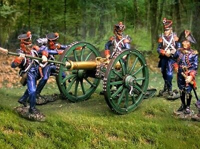 COLLECTORS SHOWCASE NAPOLEONIC FRENCH LINE ARTILLERY SET MIB