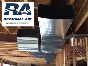 Duct work for new construction & renovations