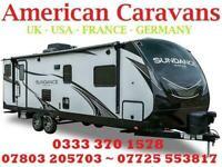 HUGE RANGE of NEW & USED AMERICAN Slide Out CARAVAN Showman RV TRAILER 5th Wheel