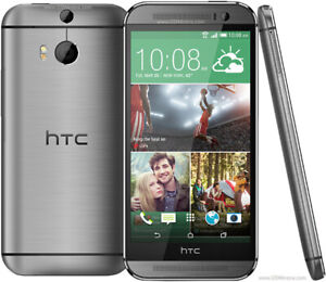 HTC M8 & M9 32GB Unlocked GSM 20MP Camera Smartphone Grey Colour