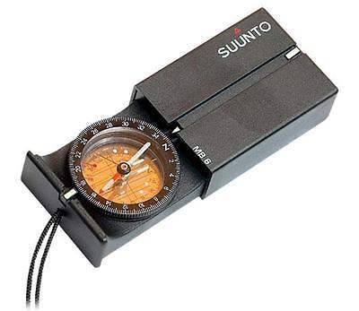 Suunto MB-6 NH Mirror Sighting Declination Adjust Navigation Compass SS010605011