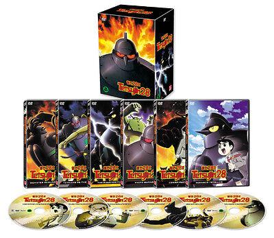 TETSUJIN 28 / The Iron Hero 28 (2004) / 6-Disc BOX SET DVD *NEW
