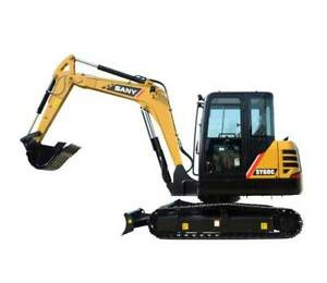 Sany SY60C Excavator Maddington Gosnells Area Preview