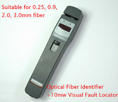 Tribrer Aif420l Optical Fiber Identifier Built With 10mw Visual Fault Locator