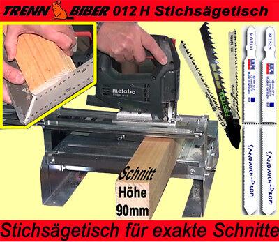 Sägetisch 012H statt Kappsäge od. Kreissäge + Sägeblätter Metabo Festool Bosch