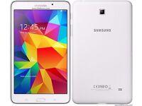 "Samsung Galaxy Tab 4 - White 16GB 8"" Screen - Perfect Condition"
