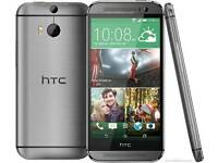 HTC one M8 gunmetal grey 32 GB unlocked brand new