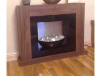 Wanted electric fire with oak surround